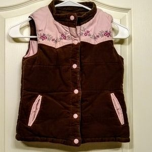 Limited Too Reversible Puffy Vest
